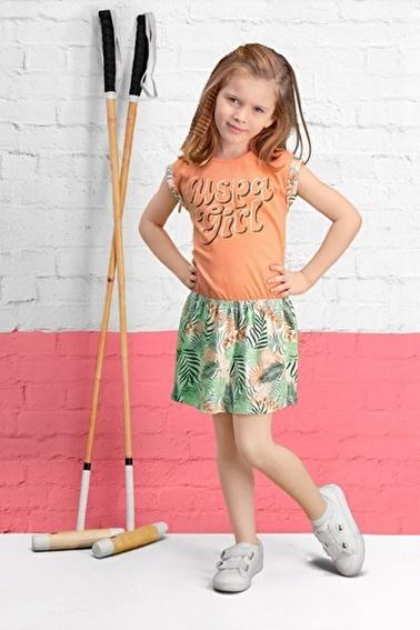 U.S. Polo Assn. U.S. Polo Assn Lisanslı Limon Sarı Kız Çocuk Gecelik Pembe